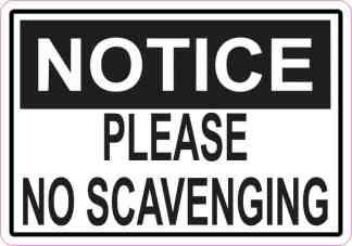 No Scavenging