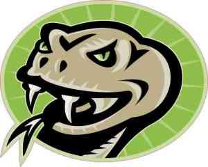 Left-Facing Green Viper Sticker