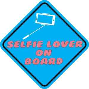 Selfie Lover On Board Magnet