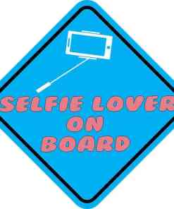 Selfie Lover On Board Magnet