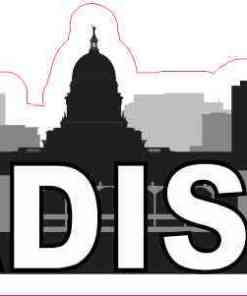 Madison Skyline Sticker