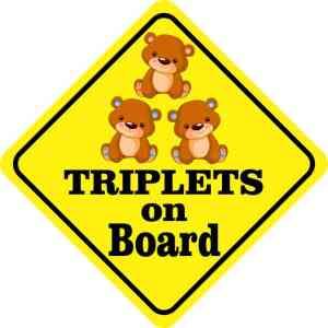 triplets on board magnet