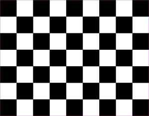 Black Checkered Sheet Magnet