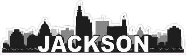 Jackson Skyline Sticker