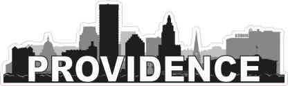Providence Skyline Sticker