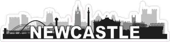 Newcastle Skyline Sticker