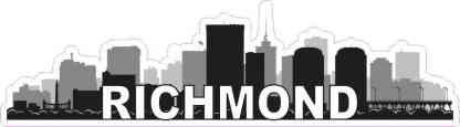 Richmond Skyline Sticker