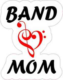 Red Band Mom Sticker