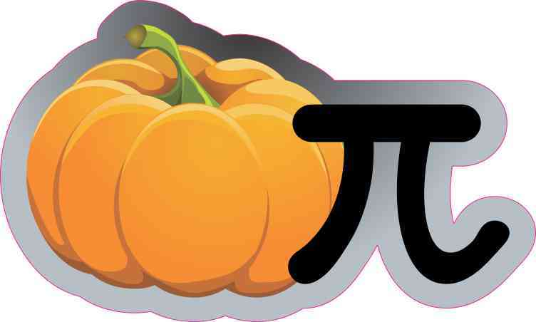 Pumpkin Pi Sticker