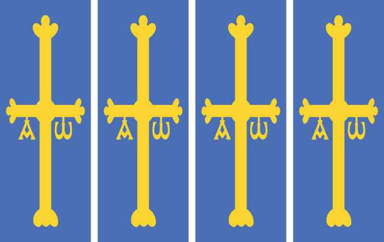Victory Cross Sticker