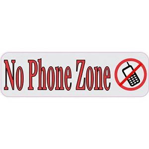 No Phone Zone Magnet