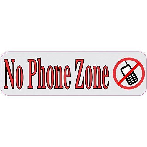 No Phone Zone Magnet