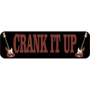 Crank It Up Bumper Sticker