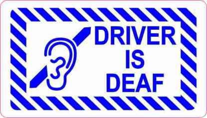 Driver Is Deaf Magnet