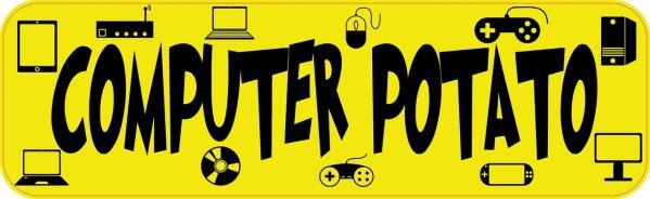 Computer Potato Magnet