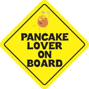 Pancake Lover on Board Magnet