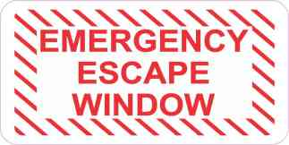 Emergency Escape Window Magnet