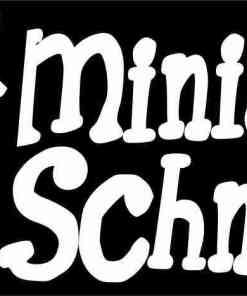 I Love My Miniature Schnauzer Magnet