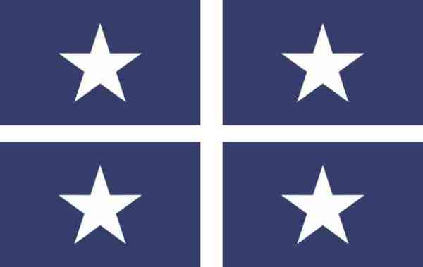 Bonnie Blue Flag Stickers