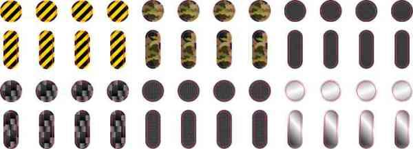 Stalwart Apple Watch Button Dots