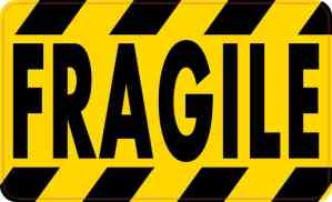 Fragile Sticker