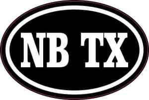 New Braunfels Texas Sticker