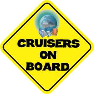 Cruisers On Board Magnet