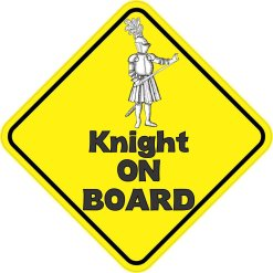 Knight On Board Magnet