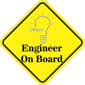 Engineer On Board Magnet