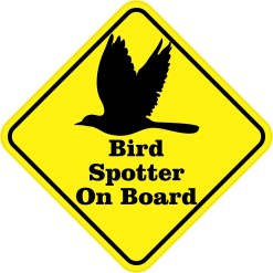 Bird Spotter On Board Magnet