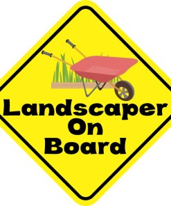 Landscaper On Board Magnet