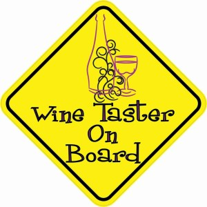 Wine Taster On Board Magnet