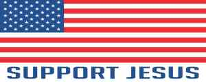Support Jesus Bumper Sticker