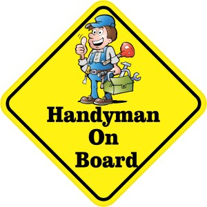 Handyman On Board Magnet