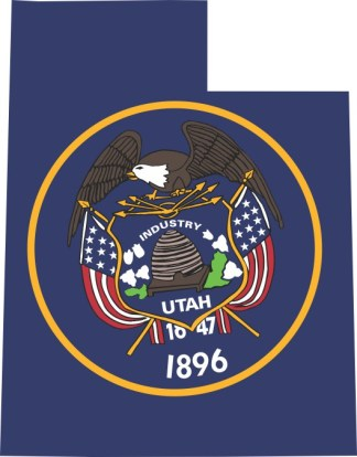 Utah State Flag Sticker