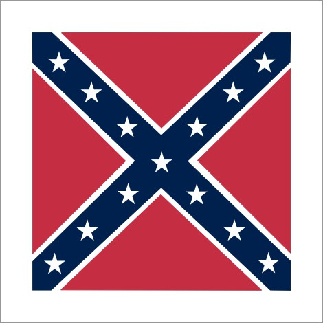 Rebel Flag Sticker
