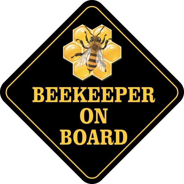 Beekeeper on Board Magnet