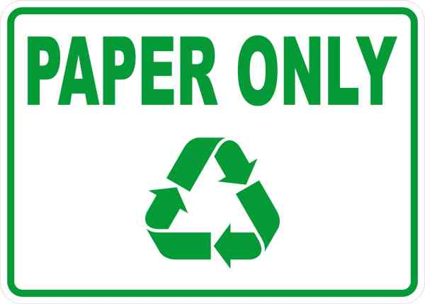Paper Only Magnet