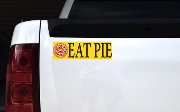 Eat Pie Pizza Magnet