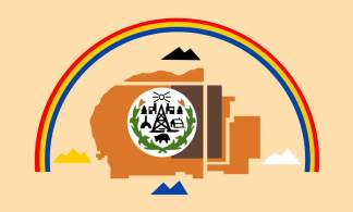 Navajo Nation Flag Sticker