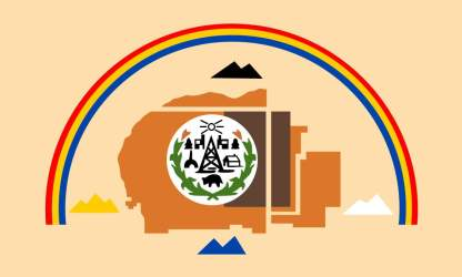 Navajo Nation Flag Magnet