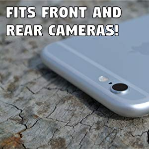 Fits Front and Rear Camera Removable