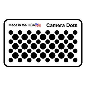 camera dot sheet