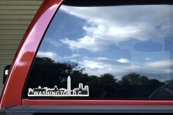 Washington D.C. Skyline Sticker