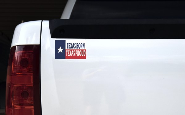 Texas Born Texas Proud Magnet