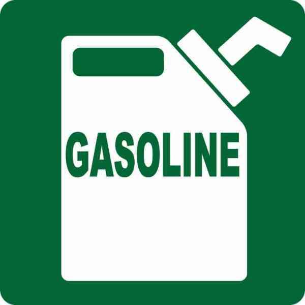 Green Gasoline Magnet