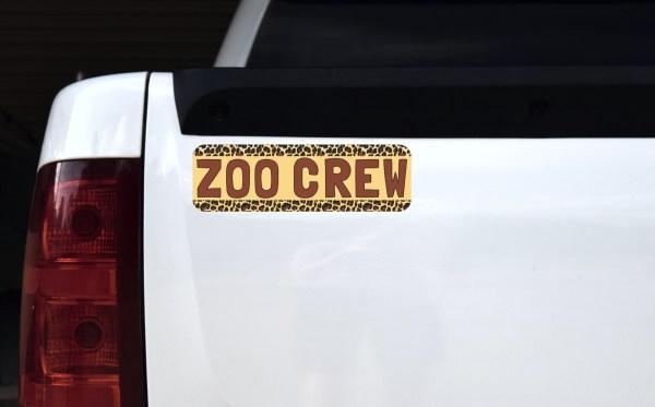 Zoo Crew Magnet