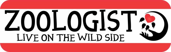 Zoologist Live on the Wild Side Magnet