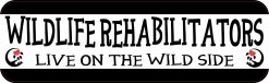 Wildlife Rehabilitators Bumper Sticker