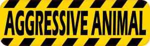 Aggressive Animal Magnet